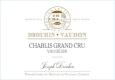 Maison Joseph Drouhin Chablis Grand Cru Vaudésir - label