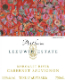 Leeuwin Estate Art Series Cabernet Sauvignon - label