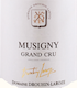 Domaine Drouhin-Laroze Musigny Grand Cru  - label