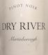 Dry River Pinot Noir - label