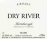 Dry River Riesling Craighall - label