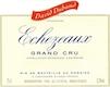 David Duband Echezeaux Grand Cru  - label