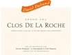 David Duband Clos de la Roche Grand Cru  - label