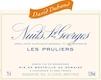 David Duband Nuits-Saint-Georges Premier Cru Les Pruliers - label