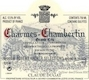 Domaine Claude Dugat Charmes-Chambertin Grand Cru  - label