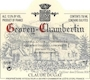 Domaine Claude Dugat Gevrey-Chambertin Premier Cru  - label