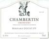 Domaine Bernard Dugat-Py Chambertin Grand Cru  - label