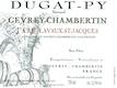 Domaine Bernard Dugat-Py Gevrey-Chambertin Premier Cru Lavaux Saint-Jacques - label