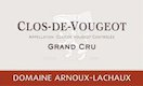 Domaine Arnoux-Lachaux (ex Robert Arnoux) Clos de Vougeot Grand Cru  - label