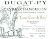 Domaine Bernard Dugat-Py Gevrey-Chambertin Coeur de Roy (Très) Vieilles Vignes - label