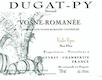 Domaine Bernard Dugat-Py Vosne-Romanée Vieilles vignes - label