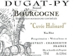 Domaine Bernard Dugat-Py Bourgogne Cuvée Halinard - label