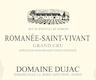 Domaine Dujac Romanée-Saint-Vivant Grand Cru  - label