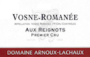 Domaine Arnoux-Lachaux (ex Robert Arnoux) Vosne-Romanée Premier Cru Aux Reignots - label