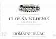 Domaine Dujac Clos Saint-Denis Grand Cru  - label