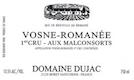 Domaine Dujac Vosne-Romanée Premier Cru Aux Malconsorts - label