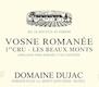 Domaine Dujac Vosne-Romanée Premier Cru Les Beaux Monts - label