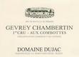 Domaine Dujac Gevrey-Chambertin Premier Cru Aux Combottes - label