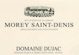 Domaine Dujac Morey-Saint-Denis Blanc - label