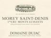 Domaine Dujac Morey-Saint-Denis Premier Cru Les Monts Luisants Blanc - label