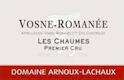 Domaine Arnoux-Lachaux (ex Robert Arnoux) Vosne-Romanée Premier Cru Les Chaumes - label