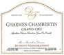 Dupont Tisserandot Charmes-Chambertin Grand Cru  - label