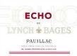 Château Lynch-Bages Echo de Lynch-Bages Cinquième Cru - label