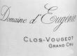 Domaine d'Eugénie (ex René Engel) Clos de Vougeot Grand Cru  - label