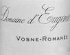 Domaine d'Eugénie (ex René Engel) Vosne-Romanée  - label