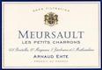 Arnaud Ente Meursault Les Petits Charrons - label