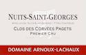 Domaine Arnoux-Lachaux (ex Robert Arnoux) Nuits-Saint-Georges Premier Cru Clos des Corvées Pagets - label