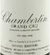Frédéric Esmonin Chambertin Grand Cru  - label