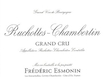 Frédéric Esmonin Ruchottes-Chambertin Grand Cru  - label