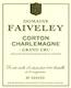 Domaine Faiveley Corton-Charlemagne Grand Cru  - label