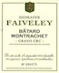 Domaine Faiveley Bâtard-Montrachet Grand Cru  - label