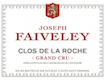 Domaine Faiveley Clos de la Roche Grand Cru  - label