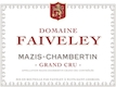 Domaine Faiveley Mazis-Chambertin Grand Cru  - label