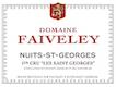 Domaine Faiveley Nuits-Saint-Georges Premier Cru Les Saints-Georges - label