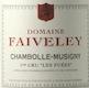 Domaine Faiveley Chambolle-Musigny Premier Cru Les Fuées - label