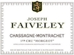 Domaine Faiveley Chassagne-Montrachet Premier Cru Morgeot - label