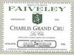 Domaine Faiveley Chablis Grand Cru Les Clos - label