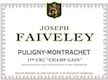 Domaine Faiveley Puligny-Montrachet Premier Cru Champ Gain - label