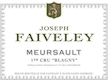 Domaine Faiveley Meursault Premier Cru Blagny - label