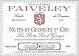 Domaine Faiveley Nuits-Saint-Georges Premier Cru Les Porrets-Saint-Georges - label