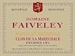 Domaine Faiveley Nuits-Saint-Georges Premier Cru Clos de la Maréchale - label