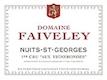 Domaine Faiveley Nuits-Saint-Georges Premier Cru Les Vignes Rondes - label