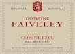 Domaine Faiveley Beaune Premier Cru Clos de l'Ecu - label