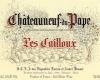 Les Cailloux (André Brunel) Châteauneuf-du-Pape Blanc - label