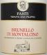 Tenuta Fanti (San Filippo) Brunello di Montalcino  - label
