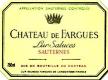 Château de Fargues  - label